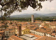 Lucca, renessanse, middelalder, historisk bydel, gamleby, Toscana, Midt-Italia, Italia