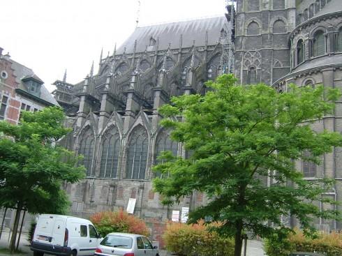 Cathédrale Notre Dame de Tournai, Tournai, historisk bysenter, Unescos liste over Verdensarven, gourmet, gamleby, gotikken, renessansen, barokken, Vallonia, Belgia