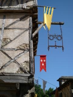 Place Plumerau, Tours, vielle ville, gamlebyen, middelalder, bindingsverk, historisk bysenter, Indre-et-Loire, Loiredalen, Vest-Frankrike, Frankrike