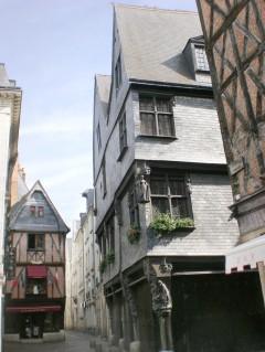Tours, gamlebyen, Vielle Ville, Loire, Vest-Frankrike
