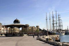 Velero en el Puerto de Valencia, Unescos liste over Verdensarven, Costa Blanca og Valencia, Spania