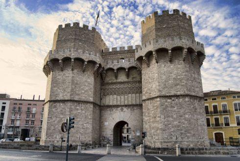 Torres de Serranos, Valencia, Unescos liste over Verdensarven, Costa Blanca og Valencia, Spania