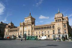 Academia de Caballeria, Plaza Zorrilla, Campo Grande, Valladolid, historisk bydel, gamleby, Castilla y Leon, Madrid og innlandet, Spania