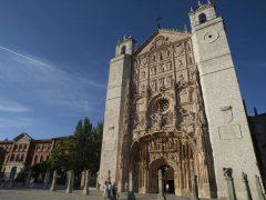Iglésia de San Pablo, Plaza de San Pablo, Valladolid, historisk bydel, gamleby, Castilla y Leon, Madrid og innlandet, Spania