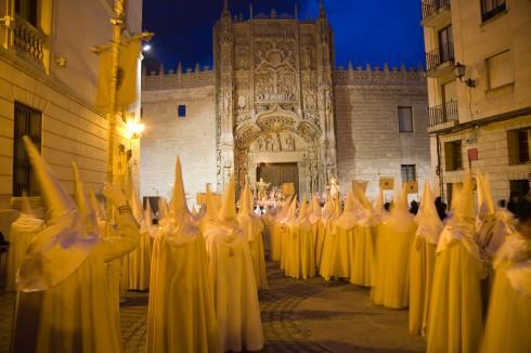 Colegio San Gregorio, Museo Nacional de Escultura, Valladolid, historisk bydel, gamleby, Castilla y Leon, Madrid og innlandet, Spania