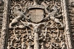Colegio de San Gregorio, Platereskstil, Valladolid, historisk bydel, gamleby, Castilla y Leon, Madrid og innlandet, Spania