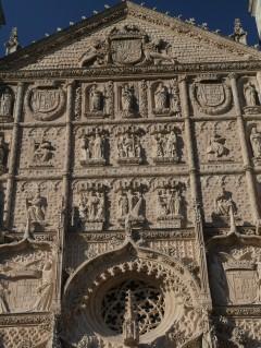 Fasaden til Iglésia de San Pablo, Valladolid, historisk bydel, gamleby, Castilla y Leon, Madrid og innlandet, Spania