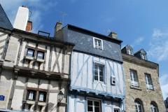Vannes, historisk, bindingsverkshus, gamleby, middelalder, Gole du Mohiban, Bretagne, Vest-Frankrike,