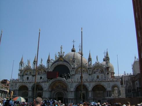 Basilica di San Marco - Marcuskatedralen, Venezia, Marcus-plassen, Canal Grande, Unescos liste over Verdensarven, middelalder, gotikken, evangelisten Marcus, renessanse-arkitektur, Veneto, Nord-Italia, Italia