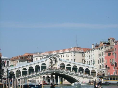 Rialto-broen, Venezia, Marcus-plassen, Canal Grande, Unescos liste over Verdensarven, middelalder, gotikken, evangelisten Marcus, renessanse-arkitektur, Veneto, Nord-Italia, Italia