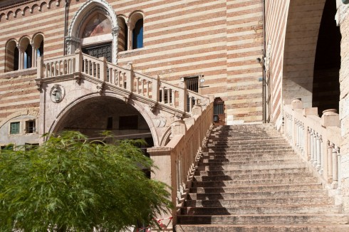 Verona, Palazzo Ragione, Arena, Piazza delle Erbe, Piazza Signori, Piazza Bra, Unescos liste over Verdensarven, romerriket, antikken, historiske bydeler, gamlebyen, Veneto, Nord-Italia, Italia