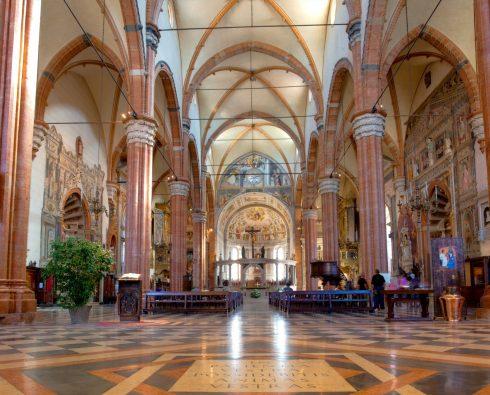 Duomo, Verona, Arena, Unescos liste over Verdensarven, romerriket, antikken, historiske bydeler, gamlebyen, Veneto, Nord-Italia, Italia