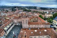 Piazza dei Signori, Verona, Arena, Unescos liste over Verdensarven, romerriket, antikken, historiske bydeler, gamlebyen, Veneto, Nord-Italia, Italia