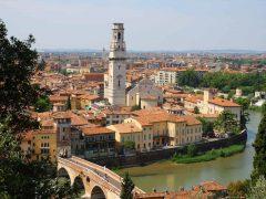 Verona, Arena, Unescos liste over Verdensarven, romerriket, antikken, historiske bydeler, gamlebyen, Veneto, Nord-Italia, Italia