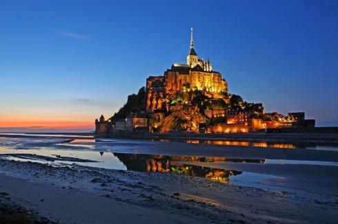 Vest-Frankrike, Mont St Michel
