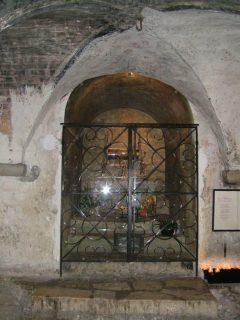 Levningene etter Maria Magdalena er oppbevart i krypten til La madeleine. Foto: ReisDit.no