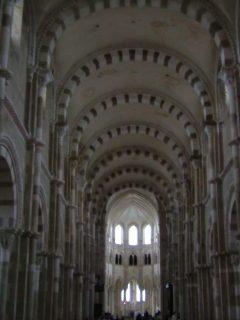 Cathédral La Madeleine, Vezelay, middelalder, korstogene, Midt-Frankrike, Frankrike