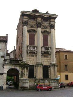 Palazzo Porto-Breganze, Vicenza, Andrea Palladio, Unescos liste over Verdensarven, Veneto, renessanse-arkitektur, Nord-Italia, Italia
