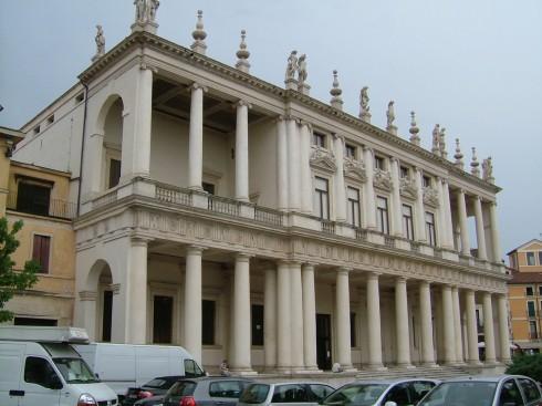 Palazzo Chiericati, Vicenza, Andrea Palladio, Unescos liste over Verdensarven, Veneto, renessanse-arkitektur, Nord-Italia, Italia