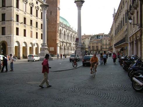 Vicenza, Andrea Palladio, Unescos liste over Verdensarven, Veneto, renessanse-arkitektur, Nord-Italia, Italia