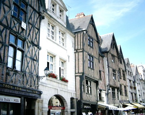 Tours, Place Plumerau, Loire, Vest-Frankrike