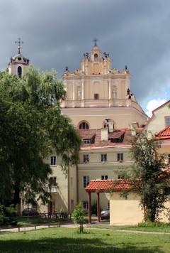 St Kasimirs kirke, barokk, Vilnius, historisk, gamleby, Unesco Verdensarven, Lithauen, Baltikum