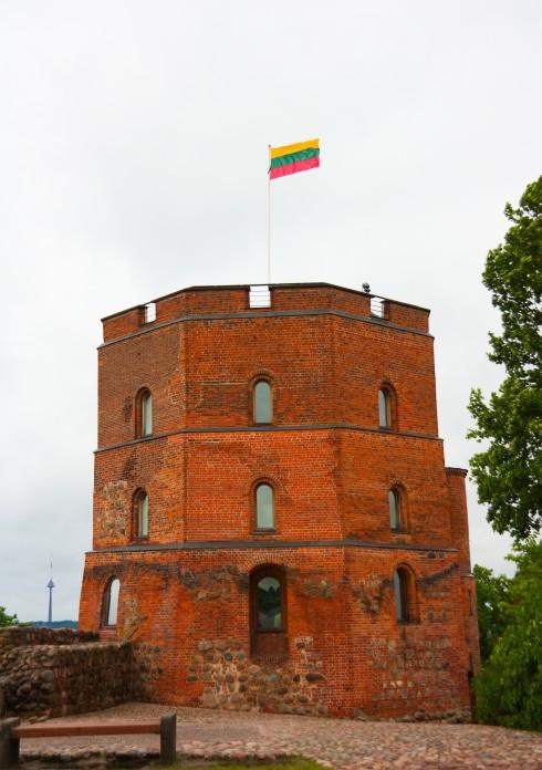 Gediminas tårn, historisk museum, Katedralplassen, Pilies, Markedsplassen, Vilnius, historisk, gamleby, Unesco Verdensarven, Lithauen, Baltikum