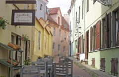 Katedralplassen, Pilies, Markedsplassen, Vilnius, historisk, gamleby, Unesco Verdensarven, Lithauen, Baltikum
