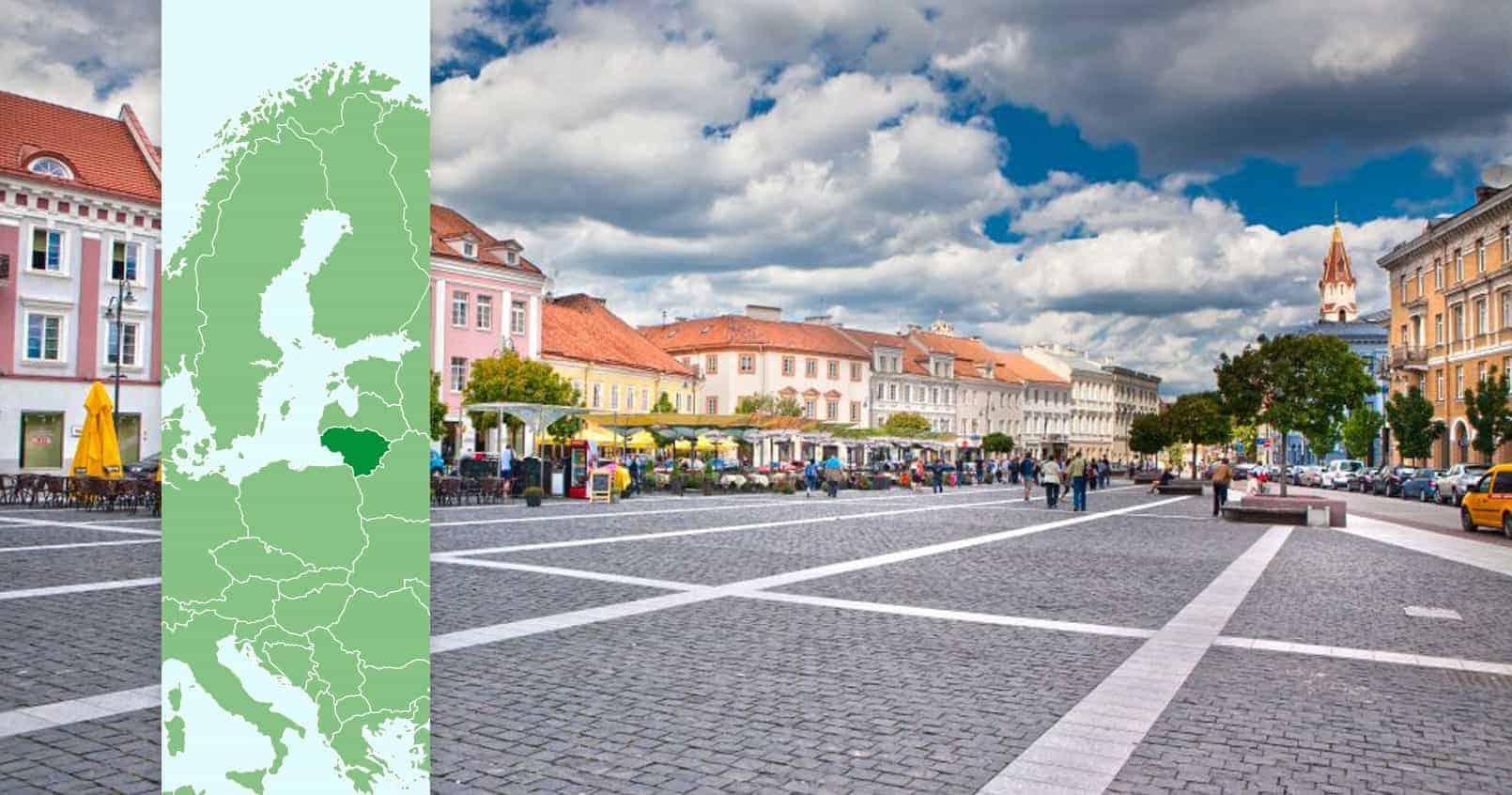 Vilnius, Litauen, reisdit.no