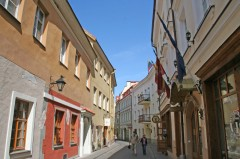 Den jødiske ghettoen, Vilnius, historisk, gamleby, Unesco Verdensarven, Lithauen, Baltikum