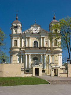 St Peters & Pauls, Vilnius, historisk, gamleby, Unesco Verdensarven, Lithauen, Baltikum