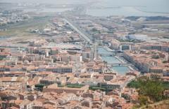 Sête, Viuex ville, havnen, kanalene, Canal du Midi, gamlebyen, middelalder, Sør-Frankrike, Frankrike