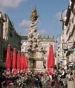 Pestsøylen, Graben, Wien, Innere Stadt, Unescos liste over Verdensarven, Ober- Nieder-Österreich og Wien, Østerrike