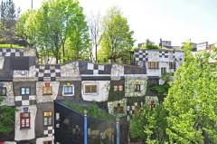 Hundertwassers Kunst Haus, Wien, Innere Stadt, Unescos liste over Verdensarven, Ober- Nieder-Österreich og Wien, Østerrike