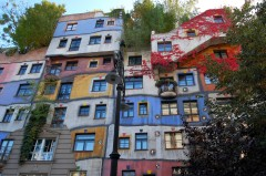 Hundertwasser Haus, Löwengasse, Wien, Innere Stadt, Unescos liste over Verdensarven, Ober- Nieder-Österreich og Wien, Østerrike