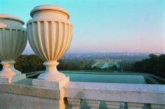 Schloss Schönbrunn sett fra Gloriette, Wien, Innere Stadt, Unescos liste over Verdensarven, Ober- Nieder-Österreich og Wien, Østerrike