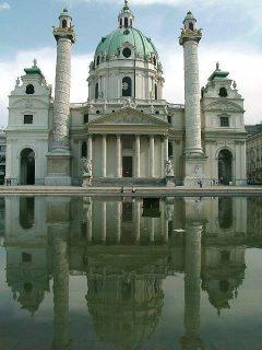 Barokk, Karlskirche, Wien, Innere Stadt, Unescos liste over Verdensarven, Ober- Nieder-Österreich og Wien, Østerrike