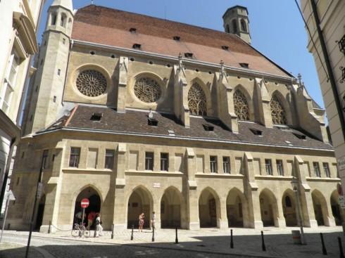 Minoritenkirche, Wien, Innere Stadt, Unescos liste over Verdensarven, Ober- Nieder-Österreich og Wien, Østerrike