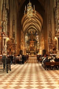 St Stephansdom,interiører, Wien, Innere Stadt, Unescos liste over Verdensarven, Ober- Nieder-Österreich og Wien, Østerrike