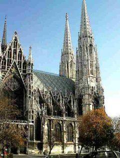 Votivkirche, Wien, Innere Stadt, Unescos liste over Verdensarven, Ober- Nieder-Österreich og Wien, Østerrike