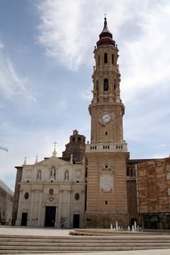 Zaragoza, Rio Ebro, Plaza del Pilar, Plaza César Augusto, Unescos liste over Verdensarven, historisk bydel, gamleby, Aragon, Madrid og innlandet, Spania