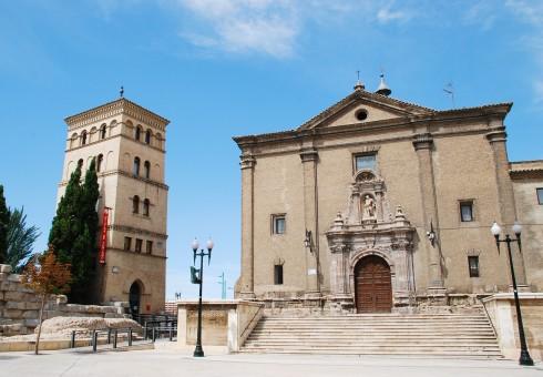 Zaragoza, Plaza del Pilar, Plaza César Augusto, Unescos liste over Verdensarven, historisk bydel, gamleby, Aragon, Madrid og innlandet, Spania