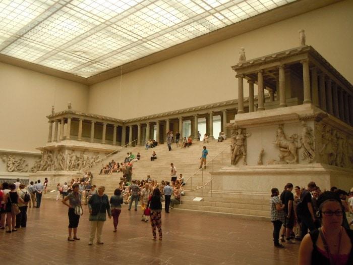 Pergamonalteret, Pergamonmuseum, Museumsinsel, Belrin