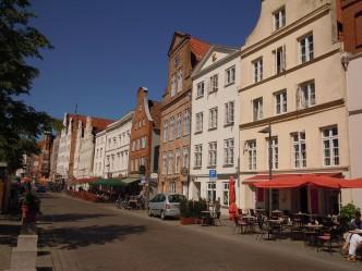 An de Obertrave Lübeck, Altstadt, Unescos liste over Verdensarven