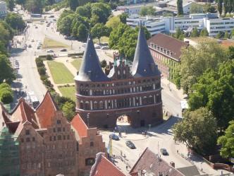 Holstentor, Lübeck, Hanseatby, Hansestadt, Unescos liste over Verdensarven, Nord-Tyskland