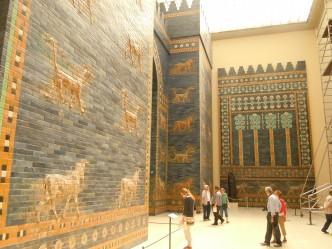 Ishtar-porten Babylon, Pergamnmuseum, Berlin