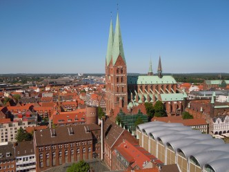 St Marien Kirche, Lübeck, Unesco