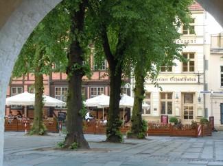 Schwerin, Altstadt, Schlkachtermarkt, Am Markt, Nord-Tyskland