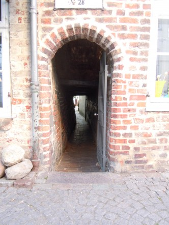 Lübeck, Altstadt, middelalder, Gang, Unesco