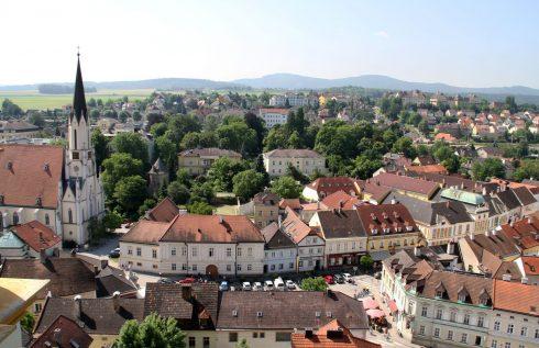 Fra landsbyen Melk i Wachaudalen Unescos liste over Verdensarven, Østerrike